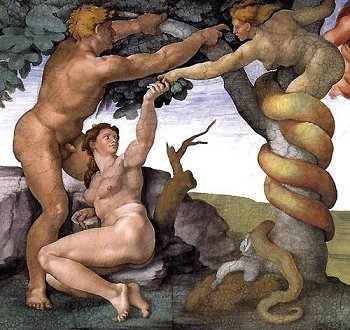 Adamo ed Eva scelgono il libero arbitrio
