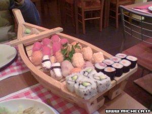 Yum... sushi!