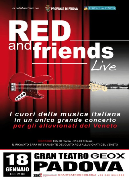 Red and Frineds Live